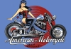 Poster AMERICAN MOTORCYCLE